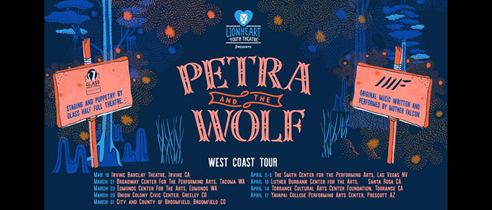 Petra and the Wolf Spring Tour